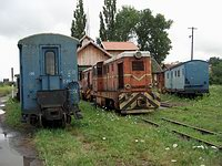 Sibiu Railway Yard